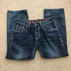 Rock Revival Remedy Relaxed Straight Jeans